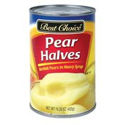 Best Choice Halved Pears
