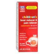 Rite Aid Pharmacy Children's Acetaminophen, Non Aspirin, Cherry Flavor, Oral Suspension Liquid
