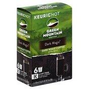 Green Mountain Coffee, Dark Roast, Dark Magic, Extra Bold, K-Cup Pods