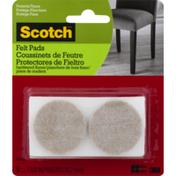 Scotch Felt Pads 1 5/8 Inch