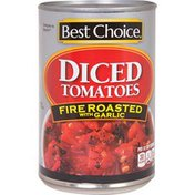Best Choice Fire Roasted Garlic Diced Tomatoes