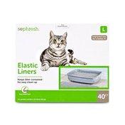 So Phresh Large Elastic Cat Litter Box Liner