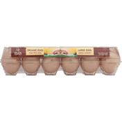 Land O Lakes Eggs, Organic, Brown, Large