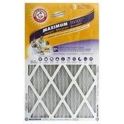 Arm & Hammer Air Filter, Maximum Allergen 16000, 16 x 25 x 1