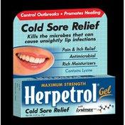 Herpetrol Maximum Strength Cold Sore Relief Gel