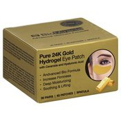 Bio Miracle Hydrogel Eye Patch, Pure 24K Gold, with Ceramide and Hyaluronic Acid