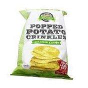 PopCrinkles Popped Potato Crinkles Sour Cream & Onion