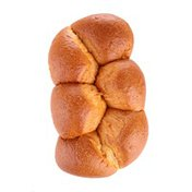 Braided Brioche Loaf