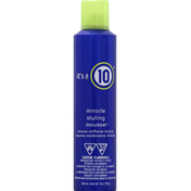 It's a 10 Styling Mousse, Miracle