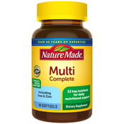 Nature Made Multivitamin Complete Softgels