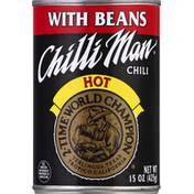 Chilli Man Chili with Beans, Hot