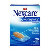 Nexcare Waterproof  Clear Bandages - 20 CT