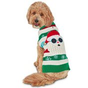 Holiday Tails Small Santa Sweater