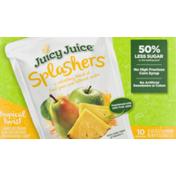Juicy Juice Splashers Juice Pouches Tropical Twist