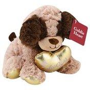 Animal Adventure Goldie Heart Bear & Dog Asst