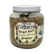 Organic Ginger Root Cut and Sifted