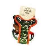 """Bond & Company 12""""-18"""" Camouflage Fashion Harness Dogs Chest"""