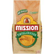 Mission Restaurant Style Tortilla Rounds