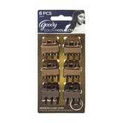 Goody Claw Clips, Assorted Brunette