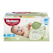 Huggies Wipes, Natural Care, Fragrance Free, Box