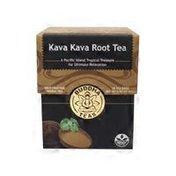 Buddha Teas Wild Crafted Herbal Kava Kava Root Tea