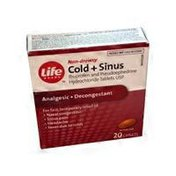 Life Brand Cold & Sinus Relief
