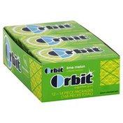 Orbit Gum, Sugarfree, Lime Melon