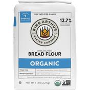 King Arthur Baking Company Bread Flour, Unbleached, Organic