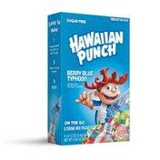 Hawaiian Punch Drink Mix, Berry Blue Typhoon, On The Go