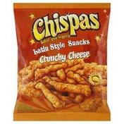 Chispas Snacks, Latin Style, Crunchy Cheese