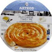 Arteos Twist Pie, Filo, Cheese