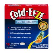 Cold-Eeze Cold Remedy Lozenges Tropical Orange