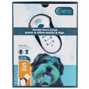 """Calmz 15"""" To 20"""" Small Black Wearable Anxiety Relief System For Dogs"""