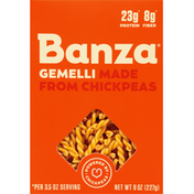 Banza Gemelli, Made From Chickpeas