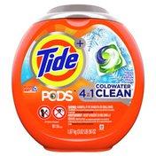 Tide Pods Coldwater Clean Liquid Laundry Detergent Pacs, Fresh Scent
