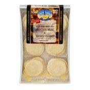 New York Ravioli & Pasta Company Jumbo Round Ravioli Broccoli Rabe & Sausage - 12 CT