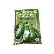 High Mowing Organic Seeds Oregon Sugar Pod Snow Peas