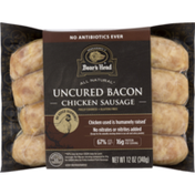 Boar's Head Chicken Sausage, Uncured Bacon