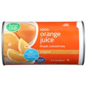 Food Club 100% Original Orange Juice Frozen Concentrate