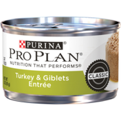 Purina Pro Plan Pate Wet Cat Food, Turkey & Giblets Entree