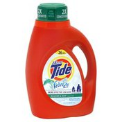 Tide Detergent, 2X Concentrated, Meadows & Rain
