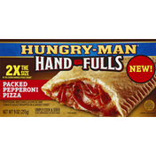 Hungry-Man Hand Fulls, Packed Pepperoni Pizza