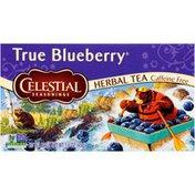 Celestial Seasonings True Blueberry Caffeine Free Herbal Tea Bags