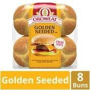 Brownberry/Arnold/Oroweat Golden Seeded Hamburger Rolls