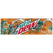 Mtn Dew Baja Tropical Punch Soda