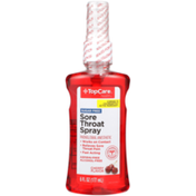 TopCare Sore Throat Phenol/Oral Anesthetic Spray, Cherry