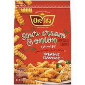 Ore-Ida Creative Classics Sour Cream & Onion Potato Crinkles