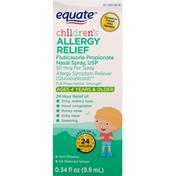 Equate Allergy Relief, Children's, 50 mcg, Full Prescription Strength