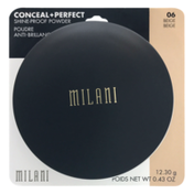 Milani Conceal + Perfect Shine-Proof Powder 06 Beige