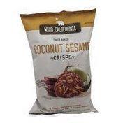 Wild California Coconut Sesame Crisps